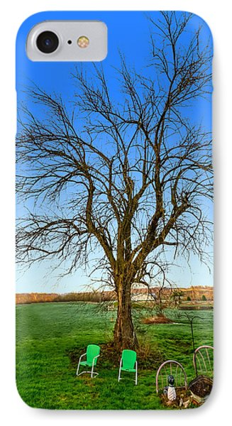 Hedge Apple Tree IPhone Case by Brian Stevens