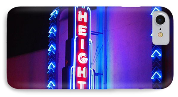 Heights Theater IPhone Case by Cheri Randolph