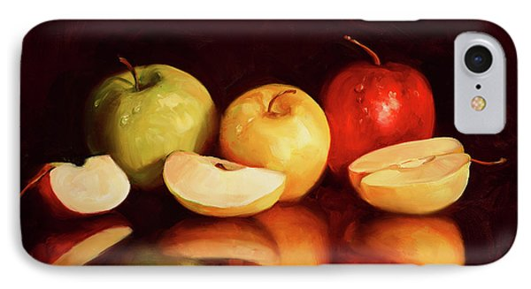 Hein Apples IPhone Case by Laurie Hein
