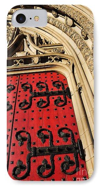 Heinz Chapel Doors Phone Case by Thomas R Fletcher