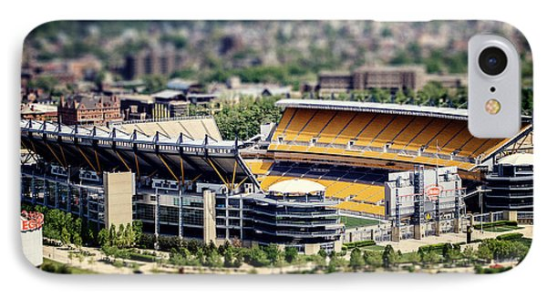 Heinz Field Pittsburgh Steelers Phone Case by Lisa Russo