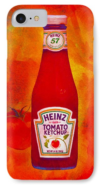 Heinz Tomato Ketchup IPhone Case by Nop Briex