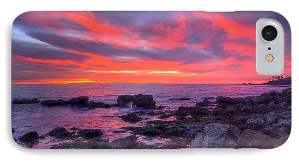 IPhone Case featuring the photograph Heisler Park Tide Pools At Dusk by Eddie Yerkish