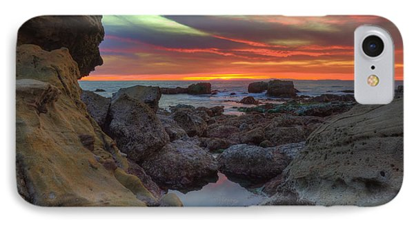 IPhone Case featuring the photograph Heisler Park Tide Pools by Eddie Yerkish