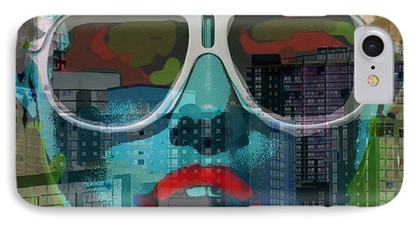 Hot In The City  IPhone Case by Paul Sutcliffe