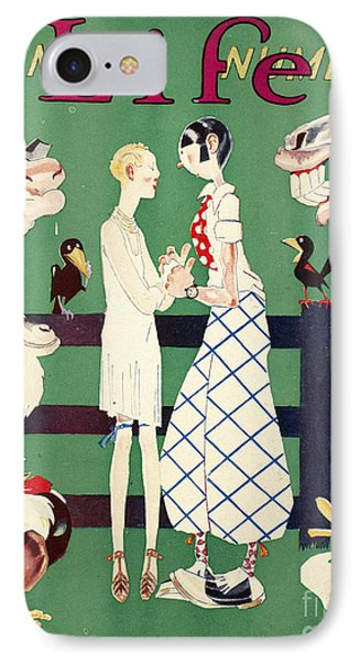 Held: Magazine Cover, 1926 Phone Case by Granger