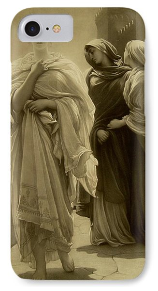 Helen Of Troy IPhone Case by Frederic Leighton