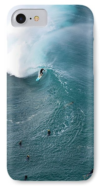 Tubed From Above. IPhone Case by Sean Davey