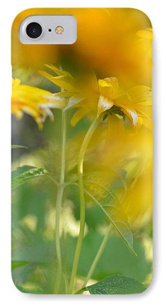 Heliopsis Blur IPhone Case