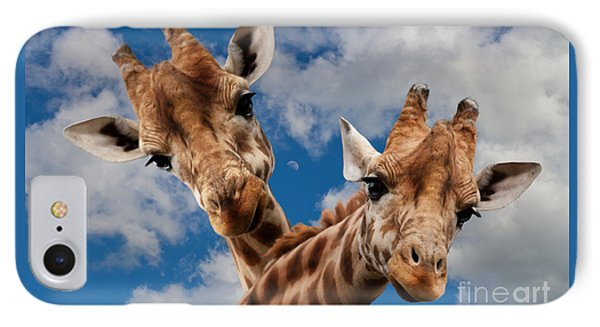 IPhone Case featuring the photograph Hello by Christine Sponchia