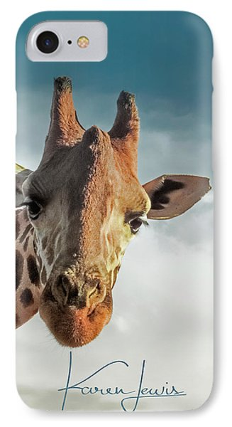 IPhone Case featuring the photograph Hello Down There by Karen Lewis