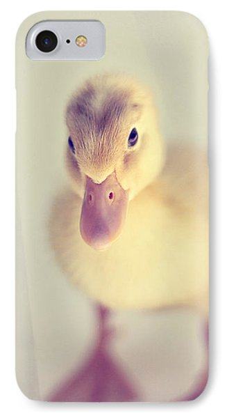 Hello Ducky IPhone Case by Amy Tyler