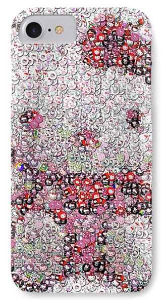 Hello Kitty Button Mosaic IPhone Case