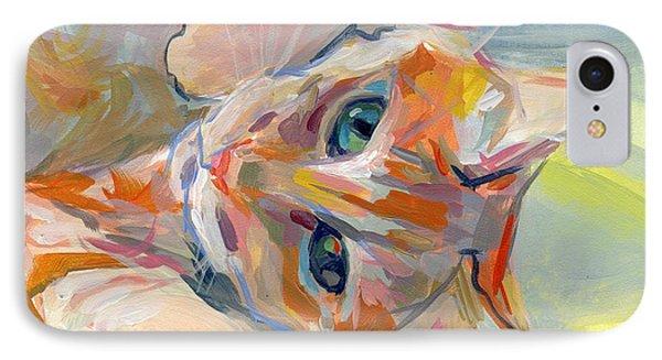 Hello Kitty Phone Case by Kimberly Santini