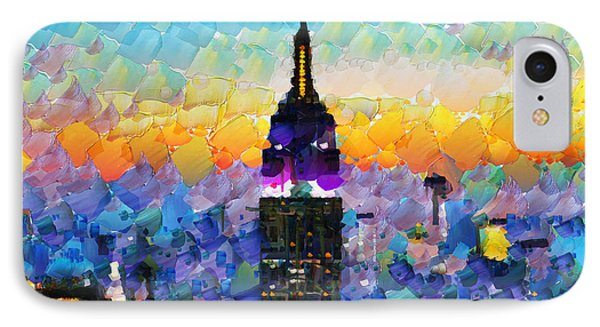 Hello New York IPhone Case by Sir Josef - Social Critic -  Maha Art