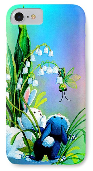 Hello There Phone Case by Hanne Lore Koehler