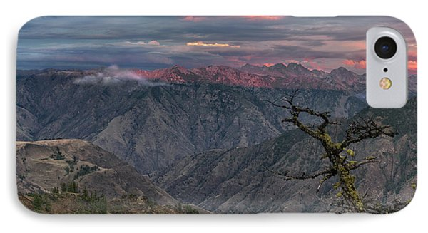 Hells Canyon Sunset 2 IPhone Case by Leland D Howard