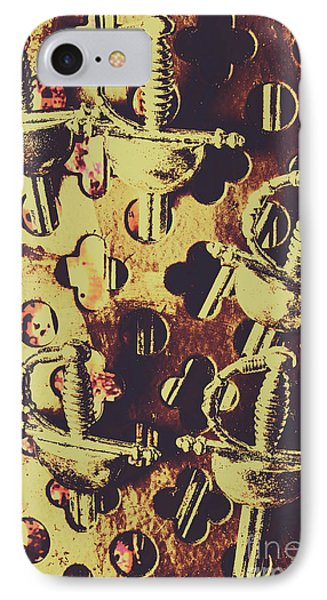 Helm Of Antique War IPhone Case by Jorgo Photography - Wall Art Gallery