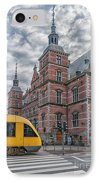 IPhone Case featuring the photograph Helsingor Train Station by Antony McAulay