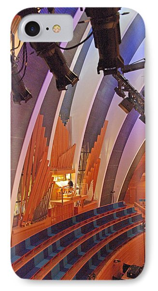 Helzberg Hall #3 IPhone Case by Jim Mathis