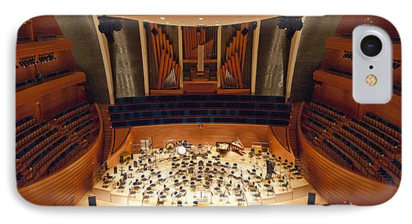 IPhone Case featuring the photograph Helzberg Hall by Jim Mathis