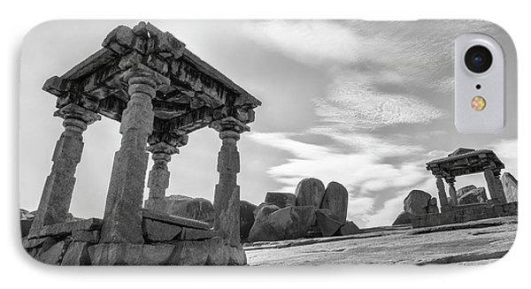 IPhone 7 Case featuring the photograph Hemakuta Hill, Hampi, 2017 by Hitendra SINKAR