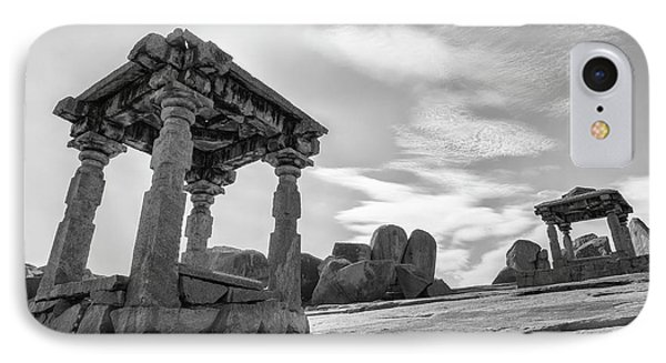 IPhone Case featuring the photograph Hemakuta Hill, Hampi, 2017 by Hitendra SINKAR