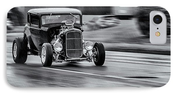Hemi Powered 1932 Ford 5 Window Coupe Phone Case by Ken Morris