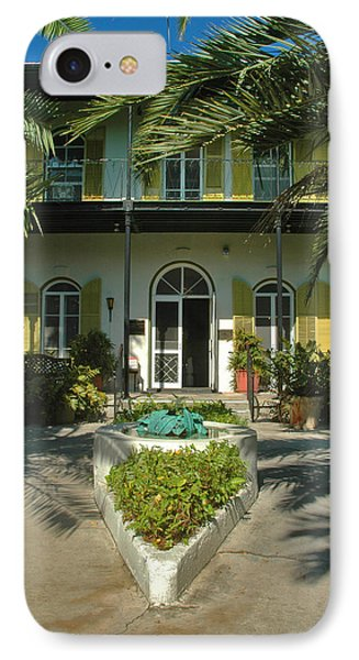 Hemingways House Key West Phone Case by Susanne Van Hulst
