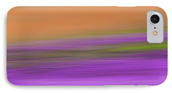 IPhone Case featuring the photograph Henbit Abstract - D010049 by Daniel Dempster