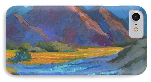 IPhone Case featuring the painting Henderson Canyon Borrego Springs by Diane McClary