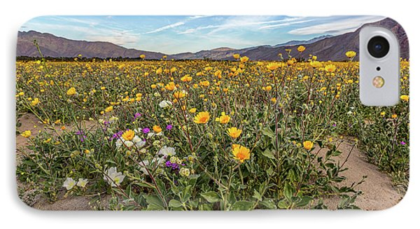 Henderson Canyon Super Bloom IPhone Case by Peter Tellone