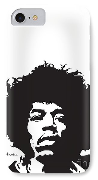 Hendrix No.01 Phone Case by Caio Caldas