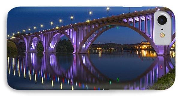 Henley Bridge In Knoxville Tn IPhone Case