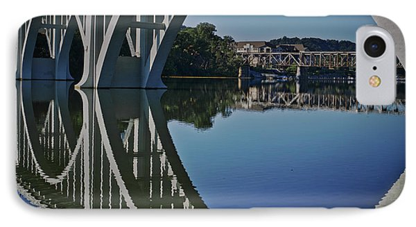 IPhone Case featuring the photograph Henley Street Bridge by Douglas Stucky