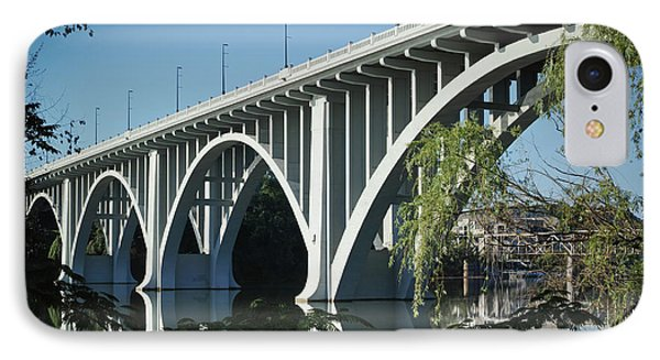 IPhone Case featuring the photograph Henley Street Bridge II by Douglas Stucky