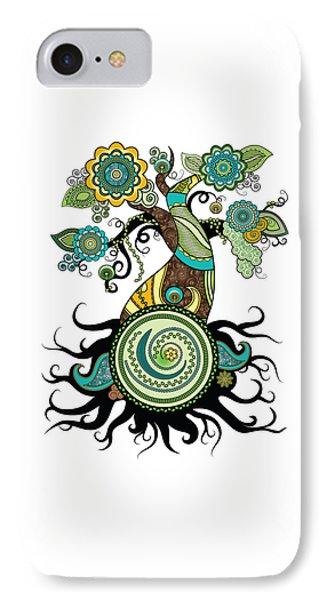 Henna Tree Of Life IPhone Case