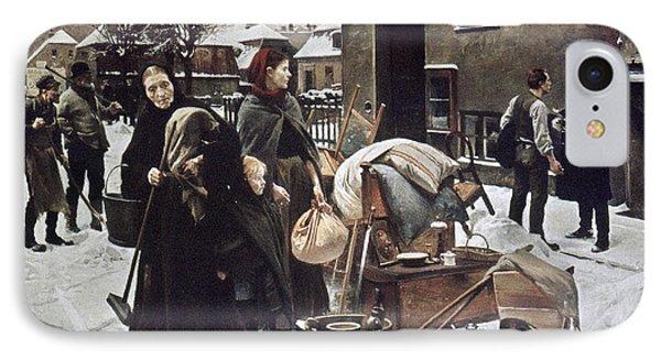 Henningsen  Evicted 1890 Phone Case by Granger