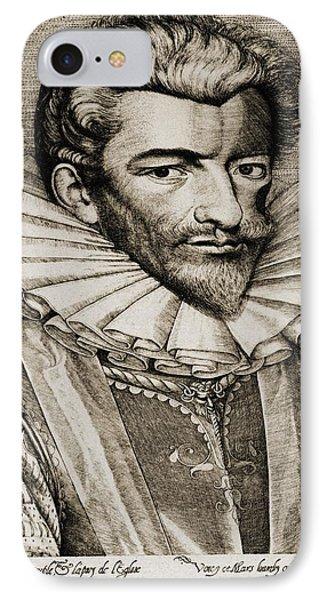 Henri De Lorraine, Duc De Guise IPhone Case by Vintage Design Pics