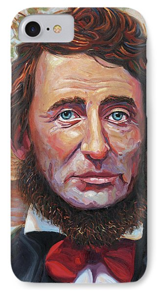 Henry David Thoreau IPhone Case by Steve Simon