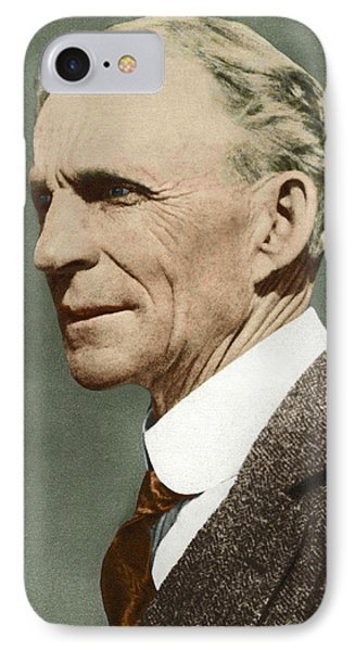 Henry Ford, Us Car Manufacturer Phone Case by Sheila Terry