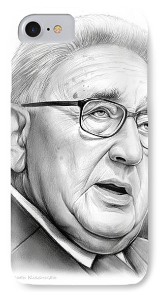 Henry Kissinger IPhone Case by Greg Joens