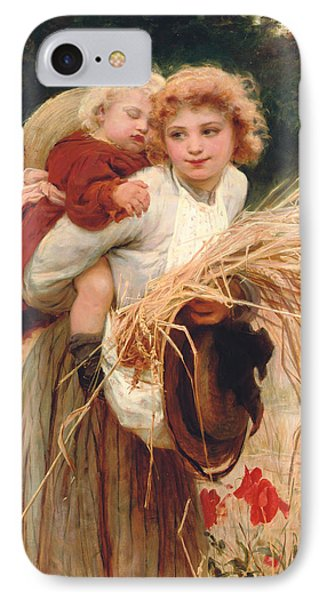 Her Constant Care IPhone Case by Frederick Morgan