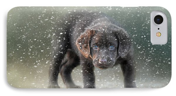 Her First Snow IPhone Case