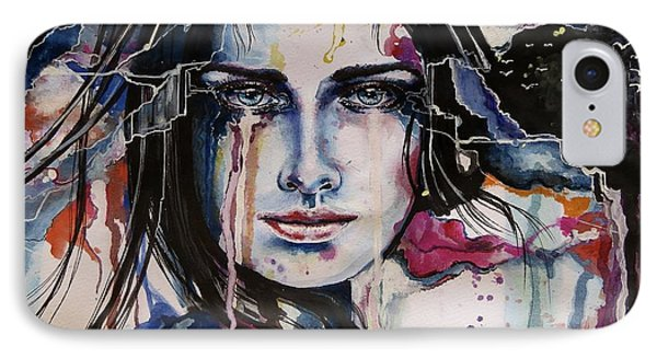 Her Sacrifice IPhone Case by Geni Gorani