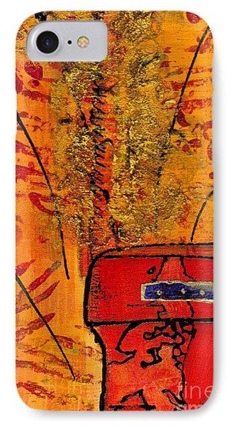 Her Vase IPhone Case by Angela L Walker