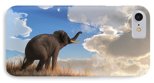Heralding The Dawn IPhone Case by Daniel Eskridge