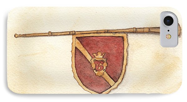 Heraldry Trumpet IPhone Case