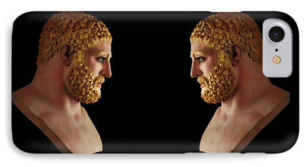 Hercules - Blondes IPhone Case by Shawn Dall