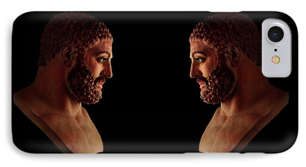 Hercules - Brunettes IPhone Case by Shawn Dall